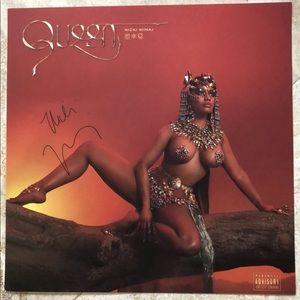 Nikki Minaj hand signed lithograph.